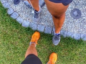 Viime kesänä taisimme siskon kanssa päästä kokonaisen kerran yhdessä lenkille :)