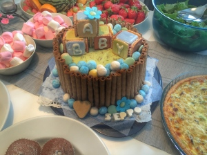 Olin sanaton tästä kakusta! <3 :)